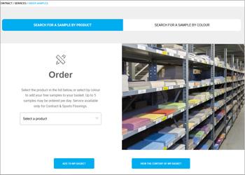 Online Sample Order
